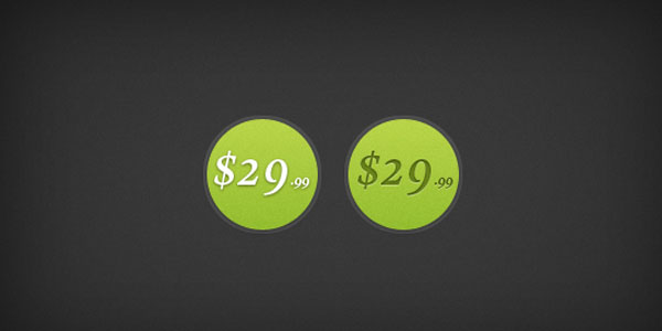 price tags psd