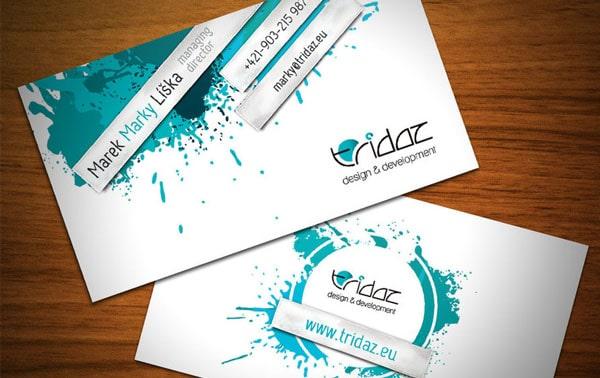 minimal business cards