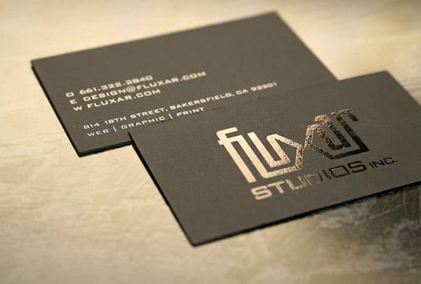 Fluxar Business Card
