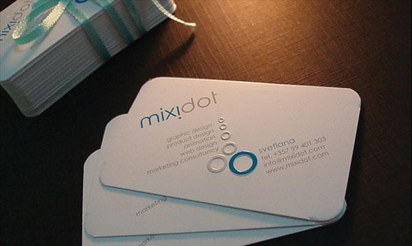 Mixidot Business Card