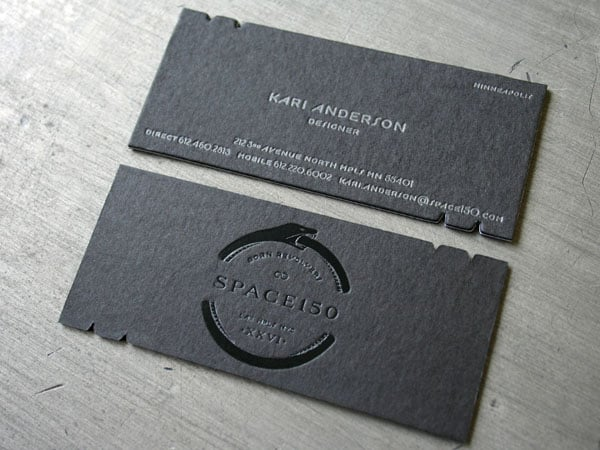Space150 V26 Business Cards