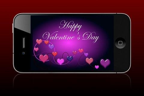 valentine i phone apps