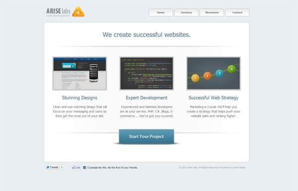 Arise Labs Website