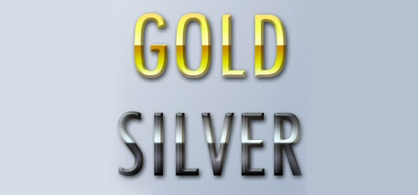 Gold Silver Styles for PS