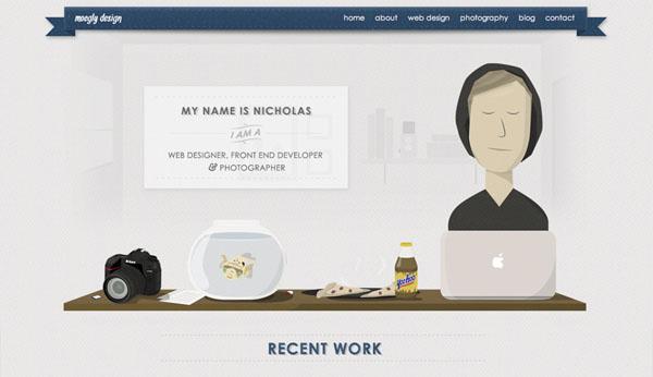 Moegly Design Website