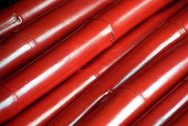 Red Bamboos
