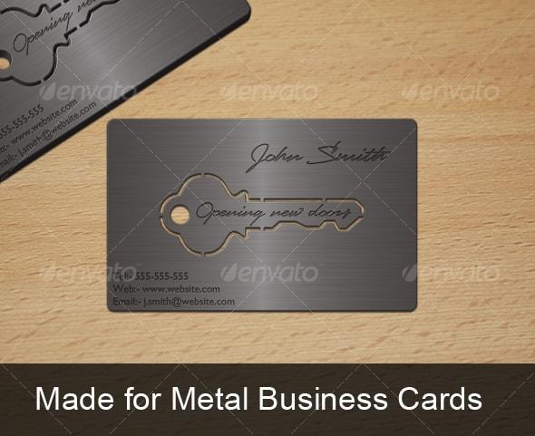 25 Superb Metal Business Cards Inspiration