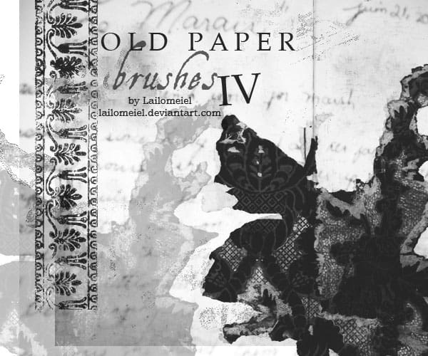 Old_Paper_Brushes_IV