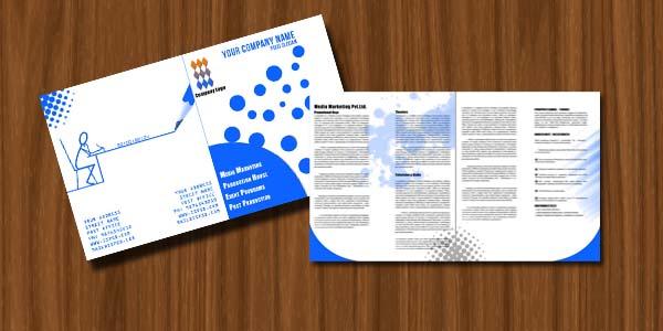 Media Marketing Flyer PSD Template