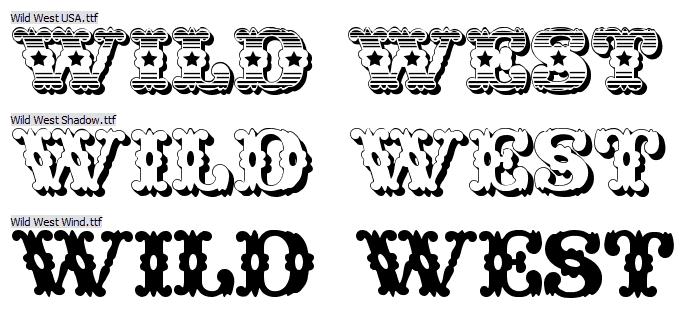Wild West Font