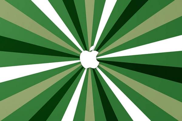 green-apple-logo-ipad-wallpaper