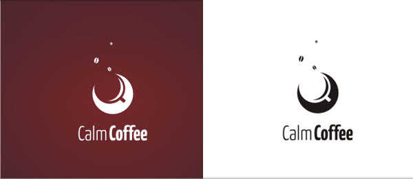 calm coffee logo