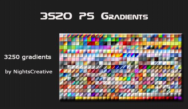 free Photoshop gradients