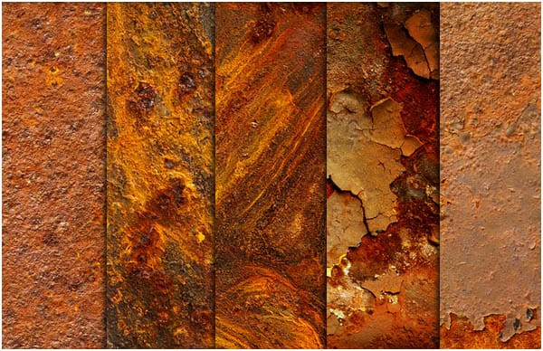 Red Rust Texture Pack