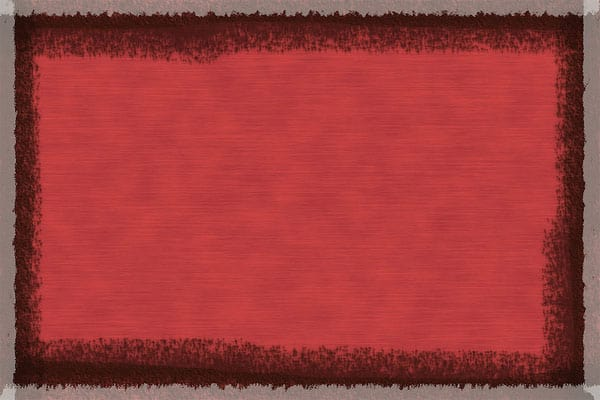 Rust texture with abstract border