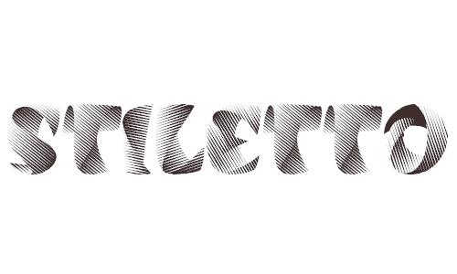 Stiletto font