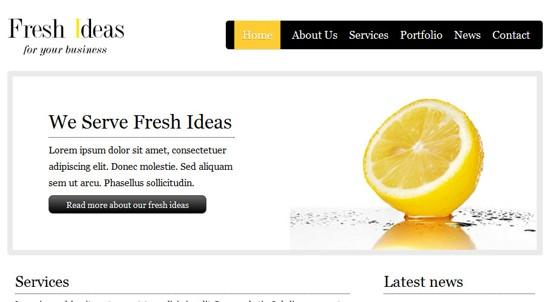 18 FreshIdeas HTML5 and CSS3 Template