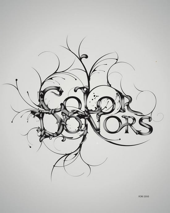 typography logo design