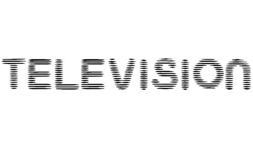 Television font
