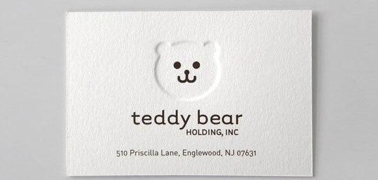 21-Teddy-Bear-Business-Card