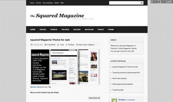 45 Amazing Premium Tumblr Themes