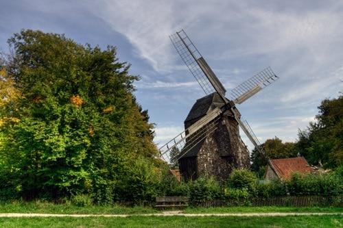 Bielefeld's Windmill - HDR