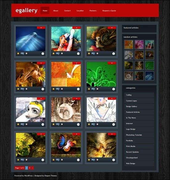 e-gallery