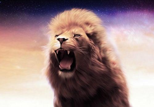 Majestic Lion king Wallpaper