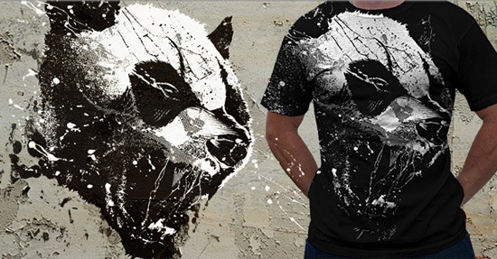 panda beautiful tshirt designs