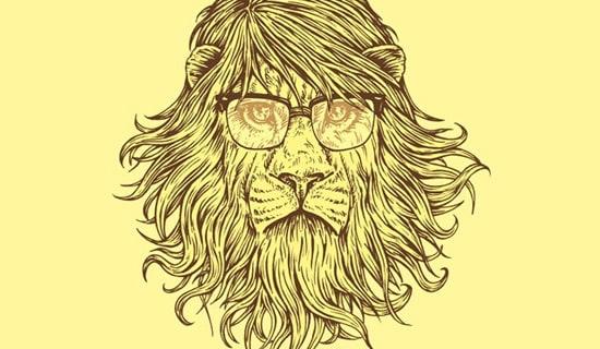 Smart-lions-beautiful-tshirt-designs