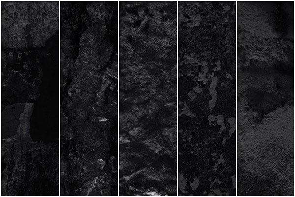 Intense dark grunge textures