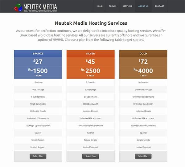 Neutek Media Hosting