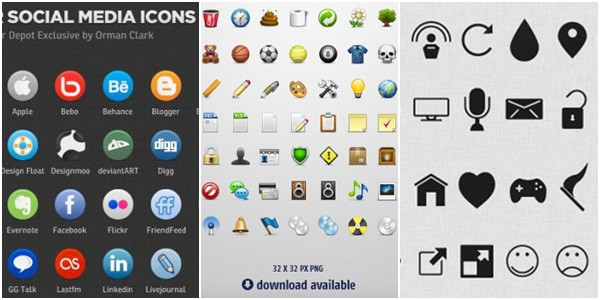 Free Vector Icon Sets