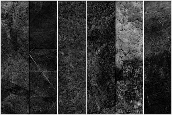 dark grunge textures