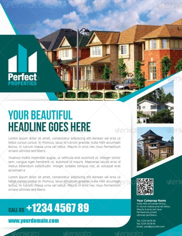 Showcase of High Quality Real Estate Flyer Templates