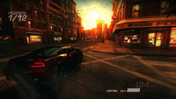 Ridge Racer Unbounded 2012 racing game