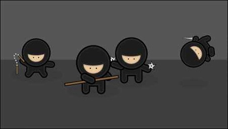 create-a-gang-of-vector-ninjas