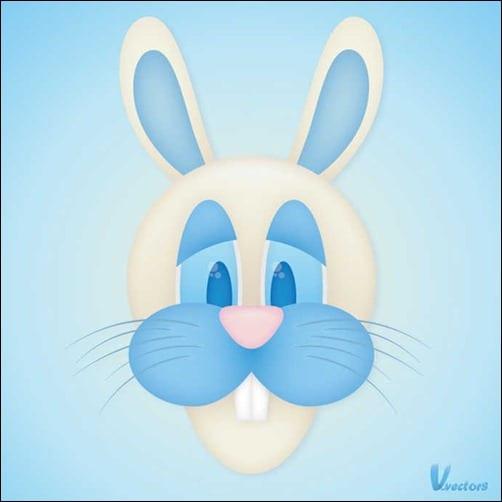 create-the-face-of-a-goofy-bunny-