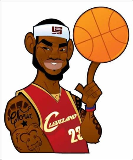 how-to-illustrate-a-lebron-james-character