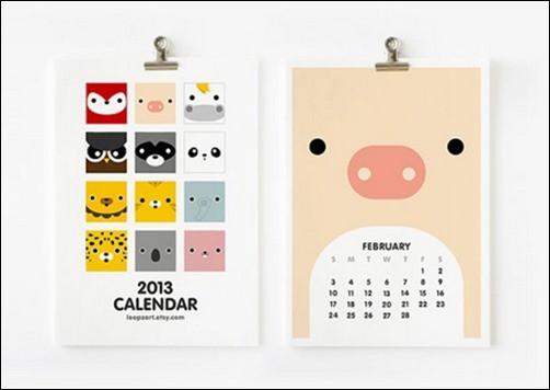 2013-Calendar-Cute-Animal[3]