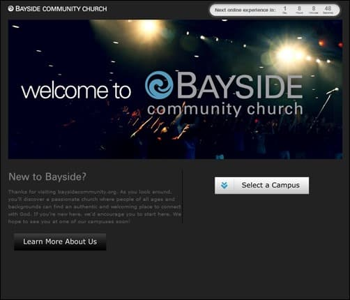 Bayside-Community-Church-church-web-design