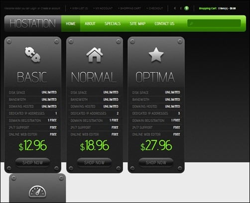 Black-and-White-opencart-templates