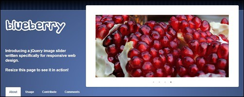 Blueberry jQuery carousel plugin