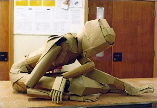 Cardboard-Figure-paper-art