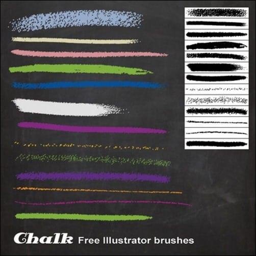 Chalk-Illustrator-Brushes-illustrator-brush