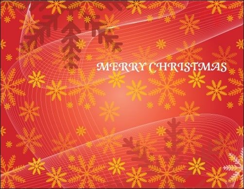 Christmas-Red-Vector-Background