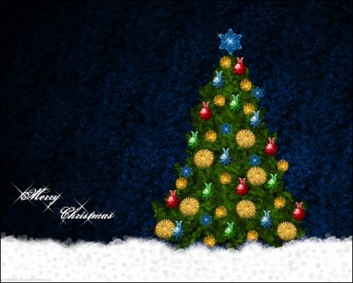 Christmas-Tree-wallpaper