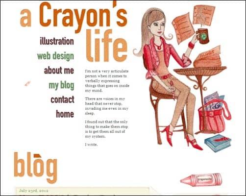 25+ Creative Blog Design Examples