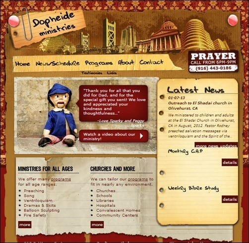 Dopheide-Ministries-church-websites