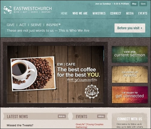 East-West-Church-church-websites